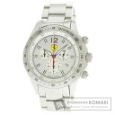 Authentic Scuderia Ferrari with logo Watch stainless steel stainless steel  Men