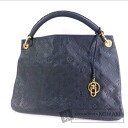 Authentic LOUIS VUITTON  ArtsyMM M93448 Shoulder bag Monogram Anne Plat cement