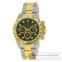 Authentic ROLEX Daytona Watch stainless steel SSxK18YG  Men