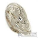 Authentic CARTIER  Trinity Ring 18K White Gold