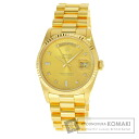 Authentic ROLEX Day Date Watch 18K yellow gold   Men