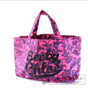 Authentic SEE BY CHLOE  Flower pattern logo design Tote bag Canvas