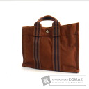 Authentic HERMES  Sacfool toePM Tote bag Canvas