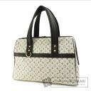 Authentic LOUIS VUITTON  Josephine GM M92310 Handbag Micro Monogram canvas