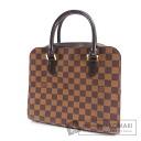 Authentic LOUIS VUITTON  Triana N51155 Handbag Damier Canvas
