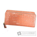 Authentic COACH  Embossing (With coin purse) Purse Patent leather