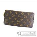 Authentic LOUIS VUITTON  Zippy wallet M61727 (With coin purse) Purse Monogram canvas