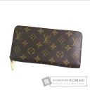 Authentic LOUIS VUITTON  Zippy wallet M60017 (With coin purse) Purse Monogram canvas