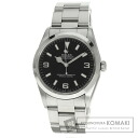 Authentic ROLEX Explorer Watch stainless steel stainless steel  Men