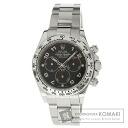 Authentic ROLEX Daytona Watch 18K White Gold K18WG  Men