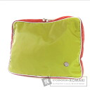 Authentic OROBIANCO  Two-tone color business bag Nylon