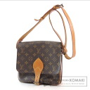 Authentic LOUIS VUITTON  Cartouchiere26 M51252 Shoulder bag Monogram canvas