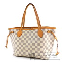 Authentic LOUIS VUITTON  Neverfull PM N51110 Tote bag Damier Canvas