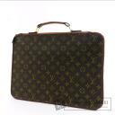Authentic LOUIS VUITTON  Briefcase Out Business bag Monogram canvas