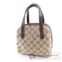 Authentic GUCCI  GGpattern Handbag Canvas