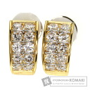 Authentic CARTIER  Diamond Earring 18K yellow gold