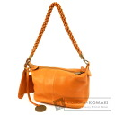 Authentic Tabitha  with logo weave Shoulder bag Leather