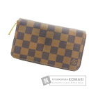 Authentic LOUIS VUITTON  Zippy Compact Wallet N60028 (With coin purse) Purse Damier Canvas