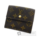 Authentic LOUIS VUITTON  Portefeiulle Elise M61652 (With coin purse) bi-fold wallet Monogram canvas