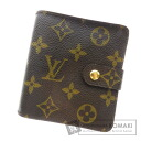 Authentic LOUIS VUITTON  Compact zip M61667 (With coin purse) bi-fold wallet Monogram canvas