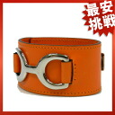 HERMES Bangle Bracelet Leather Womens