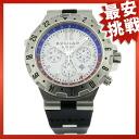 BVLGARI ディアゴノプロフェッショナルエアオートマチック GMT40SVDFB rubber watch men