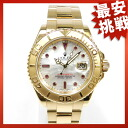 ROLEX16628B yacht master watch K18 men