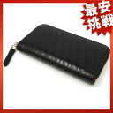 FENDI ズッキーノ pattern round fastener long wallet