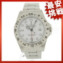 ROLEX16570 Explorer II watch SS men