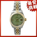 ROLEX LADIES79173 2BR date just SS/K18YG watch Lady's