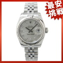 ROLEX LADIES179174G date just SS/K18WG watch Lady's