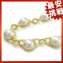 Queen mabe pearl necklace pendant K18 Lady's fs3gm