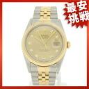 ROLEX16233G オイスターパーペチュアルデイトジャスト watch K18YG/SS men