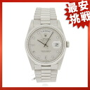 ROLEX18239A Oyster Perpetual Day-Date Watch K18WG mens