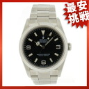 ROLEX114270 the Explorer I watch SS men