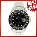 ROLEX16700 オイスターパーペチュアルデイト GMT master 1 men's watch SS