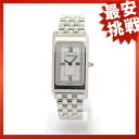 TIFFANY&Co. square case watch SS Lady's