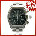 CARTIER Roadster watch SS men
