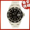 ROLEX16610 Submariner date watch SS men