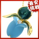 SELECT JEWELRY Blue Topaz necklace K18 gold ladies