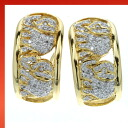 SELECT JEWELRY diamond earring K18 gold ladies