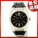 BVLGARI Ergon EGW35G watch K18WG / leather men's