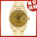 ROLEX18238A Oyster Perpetual Day-Date Watch K18YG mens