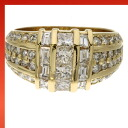 SELECT JEWELRY diamond rings K18 gold women's ring fs3gm