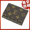 LOUIS VUITTON anvelopcaltduvigit M62920 card put the Monogram Canvas unisex