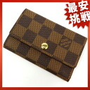 LOUIS VUITTON key holder 6 N 62630 key case