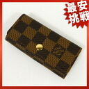 LOUIS VUITTON key holder 4 N 62631 key case