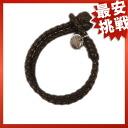 BOTTEGA VENETA イントレチャ-g. lambskin men's bracelet size S bracelet