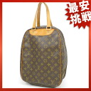 LOUIS VUITTON excursion M41450 handbag monogram canvas unisex