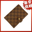 LOUIS VUITTON agenda PM notebook cover R20700 notebook カバーダミエキャンバスユニセックス
